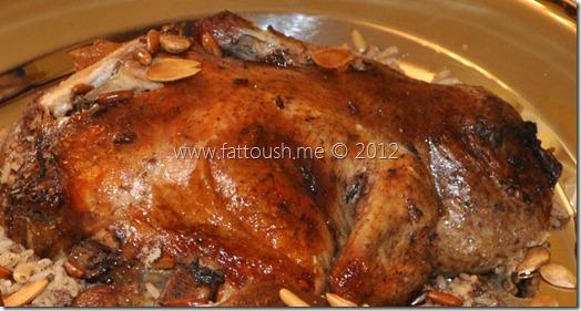 وصفة دجاج محشي - فراخ محشي من www.fattoush.me