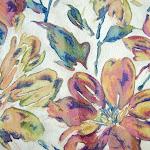 Tkanina meblowa w kwiaty. Duże wzory. 06
