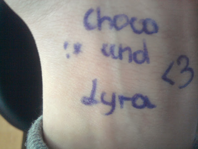 Choco und Lyra