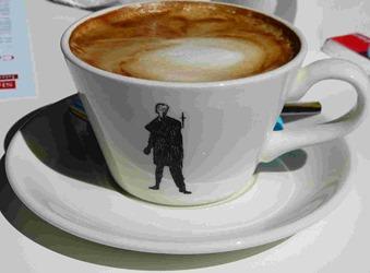 """Кофе в """"шекспировской чашке"""""""