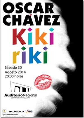 oscar havez kikirirki en Auditorio nacional Boletos baratos ticketmaster