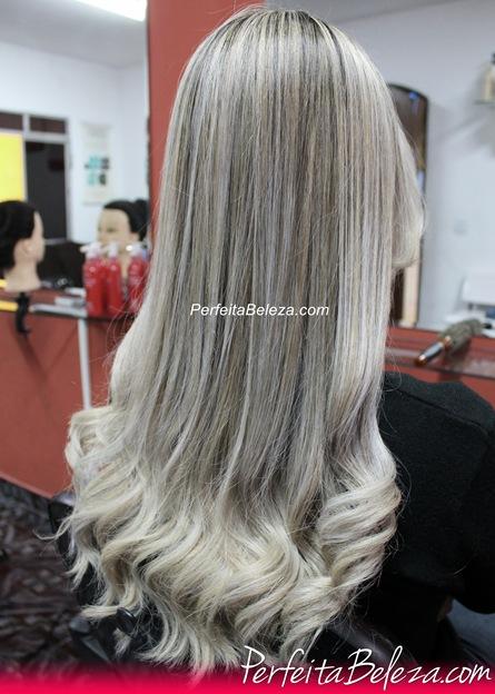 cabelo lorio platinado