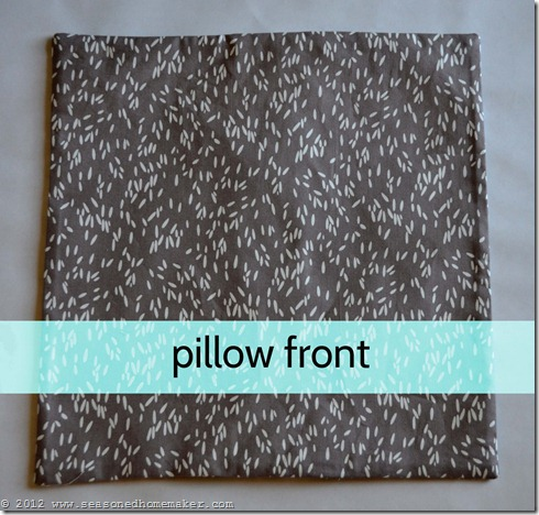 How to Sew a Pillow 33