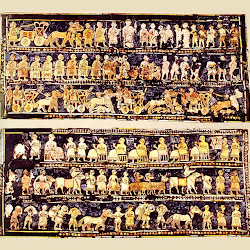 36 - Estandarte real de la tumba de Ur