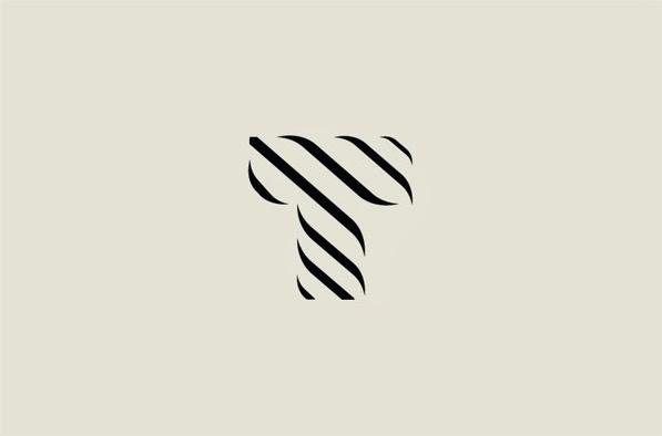 22 ejemplos de hermosos logotipos con estilo ultra minimalista 19