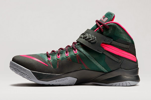 Nike Zoom Soldier 8 Mineral Slate  Hyper Punch 653641363