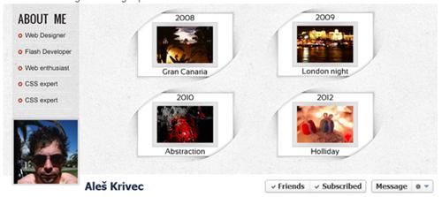 curvey facebook timeline