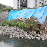 possibly caused by an earthquake downtown shizuoka in Shizuoka, Sizuoka (Shizuoka) , Japan
