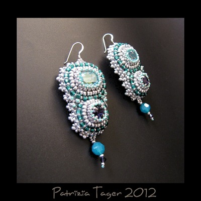 Arctic Blue Earrings 02