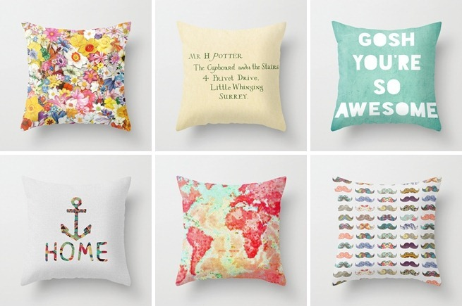 Throw Pillows from Societ6