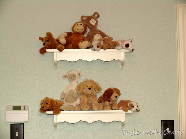 Creating an Inexpensive Playroom from Style with Cents www.stylewithcents.blogspot.com 2