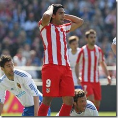 Falcao vs Zaragoza