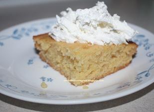 Tropical Pudding Cake - served B