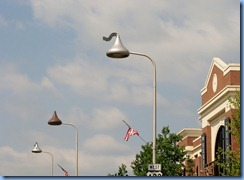 1976 Pennsylvania - Hershey, PA - Hershey Kiss street lights