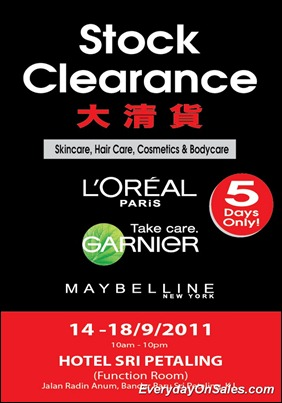 Loreal-Garnier_Maybelline-stock-clearance-2011-EverydayOnSales-Warehouse-Sale-Promotion-Deal-Discount