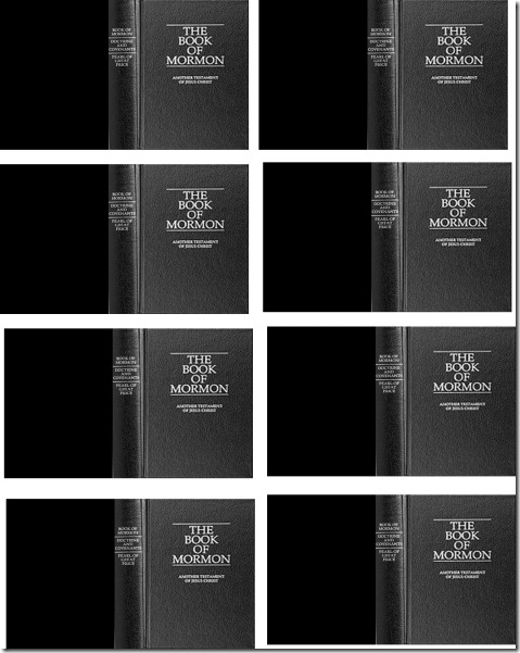 mini book of mormon covers