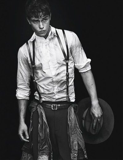 Francisco Lachowski by Mert & Marcus for DSquared2 F/W 2011-12 campaign