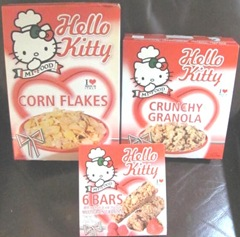 Hello Kitty cereal