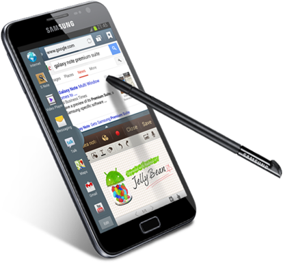 Samsung GALAXY Note Jelly Bean Premium Suite Upgrade