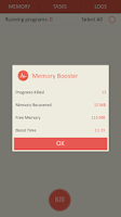 Screenshot of Memory Booster - RAM Optimizer