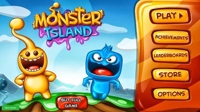 لعبة جزيرة الوحوش Monster Island لويندوز 8