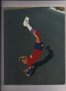 A Red, White and Blue Jay Adams elbowing his way at La Costa!