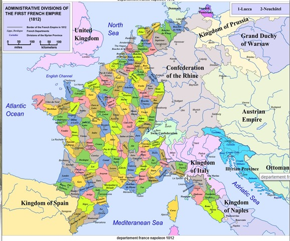 mapa de frança 4