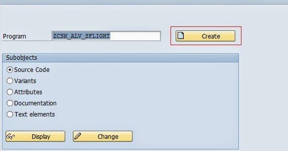 ALV Report using class CL_GUI_ALV_GRID - Team ABAP