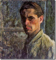 Self-Portrait (1910-1911 - Mario Sironi)