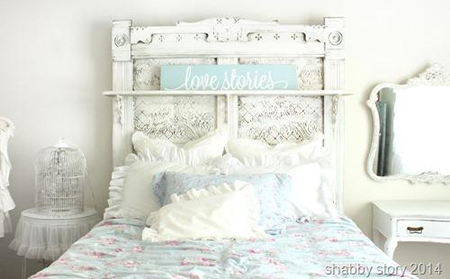 master-bed  shabby story