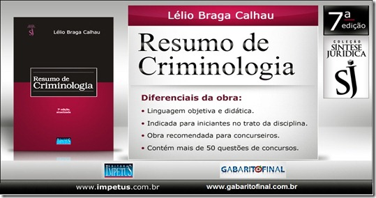 Resumo-Criminologia - alterado