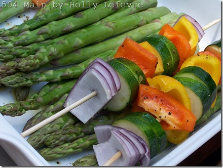 veggies pregrill