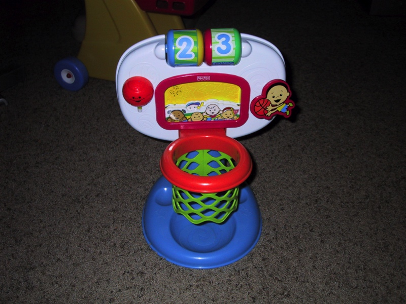 Fisher-Price Tippin Tiger Ball Toss - Tigre basketball ...