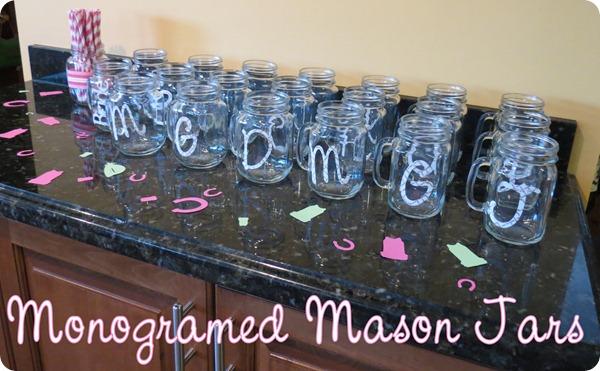 Monogrammed-Mason-Jars
