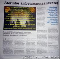 DSC09700 Den Nya Välfärden tidning. Med amorism
