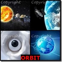 ORBIT- 4 Pics 1 Word Answers 3 Letters