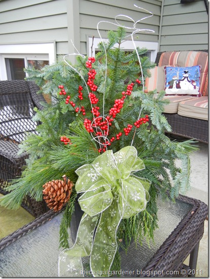 Holiday Christmas Container Design