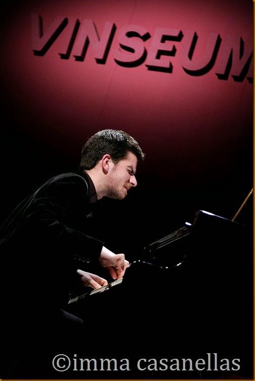Marco Mezquida, Auditori del Vinseum, Vilafranca del Penedès, 8-3-2014
