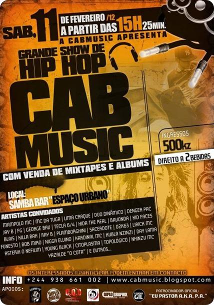 CabMusic Show