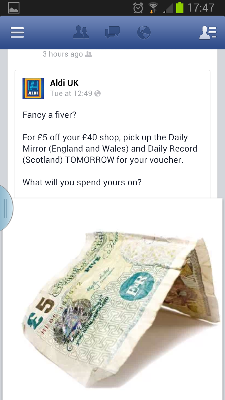 Coupon clipping uk