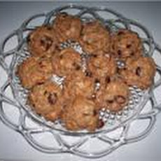 Vegan Oatmeal Cranberry Cookies (Sugar Free)