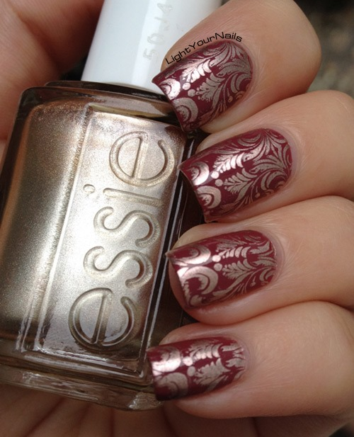 Stamping with BornPrettyStore stamping plate 05