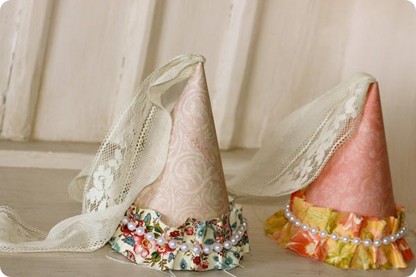Princess Party Hats  diy