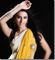 simer_motani_cute_in_saree_pic