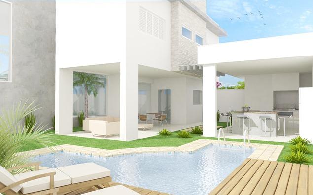 Projeto residencial -área de lazer