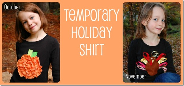 Temporary Holiday Shirt