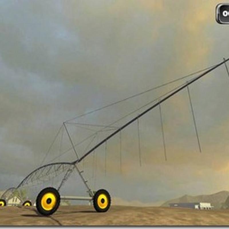 Farming simulator 2011- Pivot Irrigation System (irrigazione)