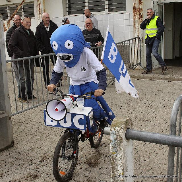 Le Chipiron, nouvelle mascotte du Bidart Union Club