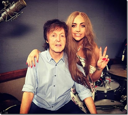 LADY GAGA, PAUL MCCARTNEY