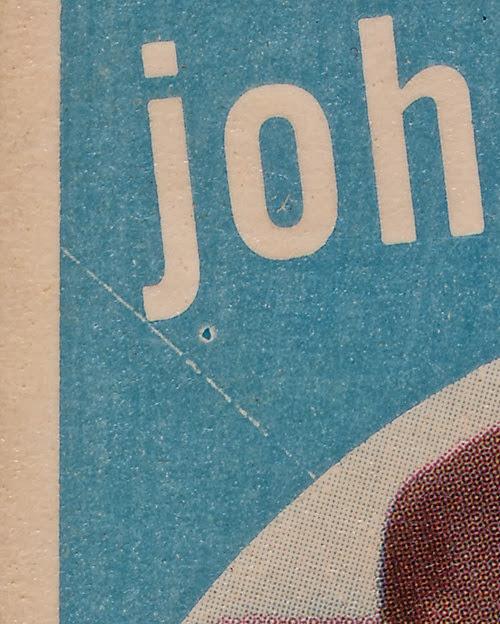 1959 Topps 225 Johnny Logan variation upper left